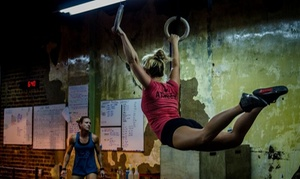 Shockoe Bottom CrossFit: Beginner's On-Ramp to CrossFit course or trial Fitness package (Up to 73% Off)
