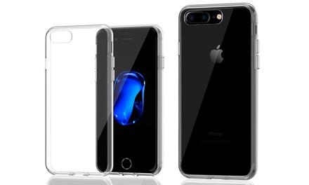 1 o 2 carcasas de gel transparente para iPhone 7 o 7 Plus desde 4,99 € (hasta 89% de descuento)