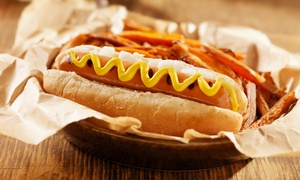 Po'Boyz: Po'Boy, Burger or Hot Dog for Up to Four at Po'Boyz (Up to 47% Off)