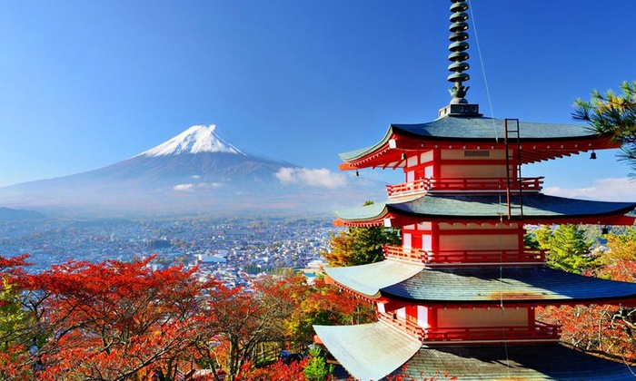 Al Naboodah Travel & Tourism Agencies LLC - Tokyo: ✈ Japan: 4- or 5-Night Hotel Stay with Breakfast, Guided Tours, Flights and Airport Transfers*