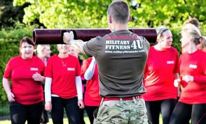 Five or Ten Bootcamp classes of Military Fitness at Military Fitness 4 U with Choice of Location (Up to 90% Off)