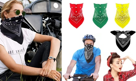 Bandana Headscarf Face Cover: Two-Pack ($9.95) or Four-Pack ($14)