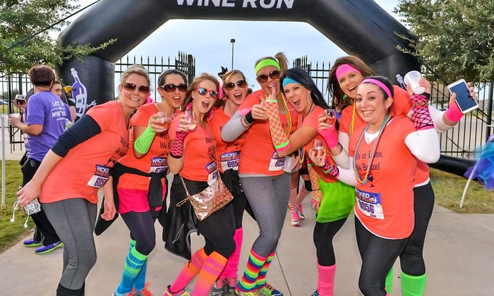 Wicked Wine Run - Temecula: $40 for 5K Entry and Wine at the Wicked Wine Run at Europa Village on Saturday, March 14 ($70 Value)