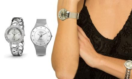 Orologio con Swarovski® disponibile in 2 modelli