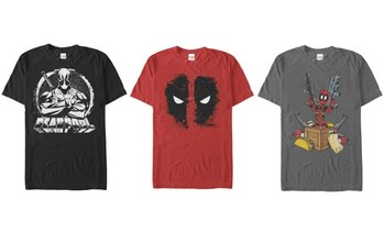 Men's Deadpool Tees. Extended Sizes Available.