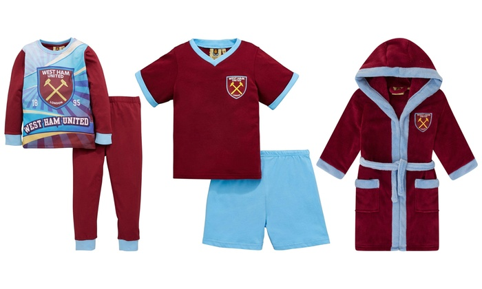 Low Priced E1f68 8ff67 Boys Official West Ham United Fc Hooded