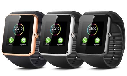 Montre connectée SmartTech compatible tous smartphones Android et iPhone, avec Tracker dactivité
