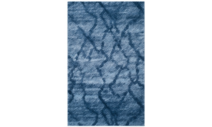 Safavieh S Pop Of Blue Retro Area Rugs
