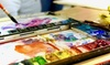 Art at 1275 Studio and Gallery - Fairfield: BYOB Watercolor and Wine Class for 1 or 2, or Afternoon Art for Kids (Up to 67%Off)