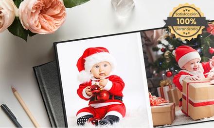 Hasta 3 fotolibros de cuero plano de 100 páginas desde 17,99€ con PrinterPix