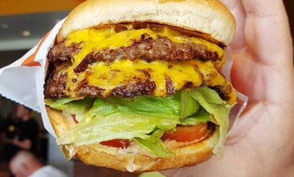 image for $14.50 for $20 worth of California-Style Burgers and Fries at CaliBurger