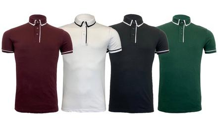 Brave Soul Men's Polo T-Shirt