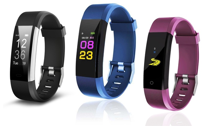 ID115+ Fitness Tracker with Heart Rate Monitor