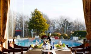 La Diligence - Restaurant: Menu 2 services et accès à l'institut Wellness du Globales Post Hotel 4*