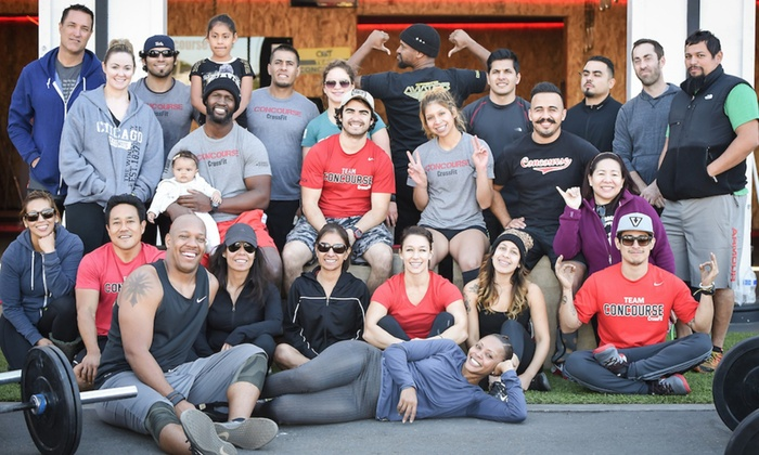 Concourse CrossFit - Hawthorne: Four Weeks of Gym Membership at Concourse CrossFit (70% Off)