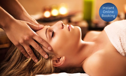 90-Min Pamper Package with Massage and Facial: One ($49) or Two Visits ($95) at Luxe Skin Studio (Up to $320 Value)