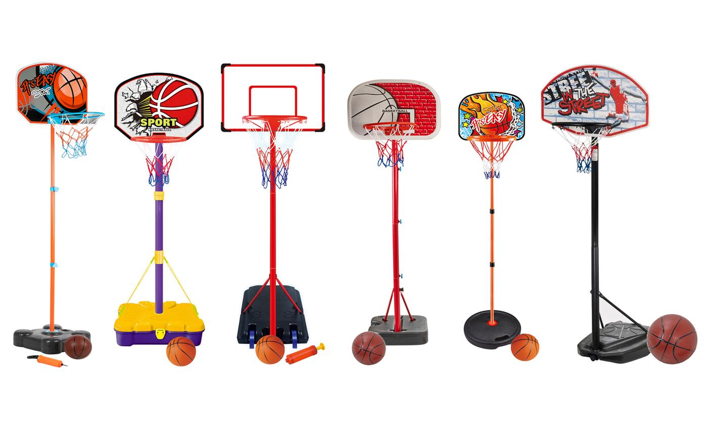 Kids' Basketball Set with Ball