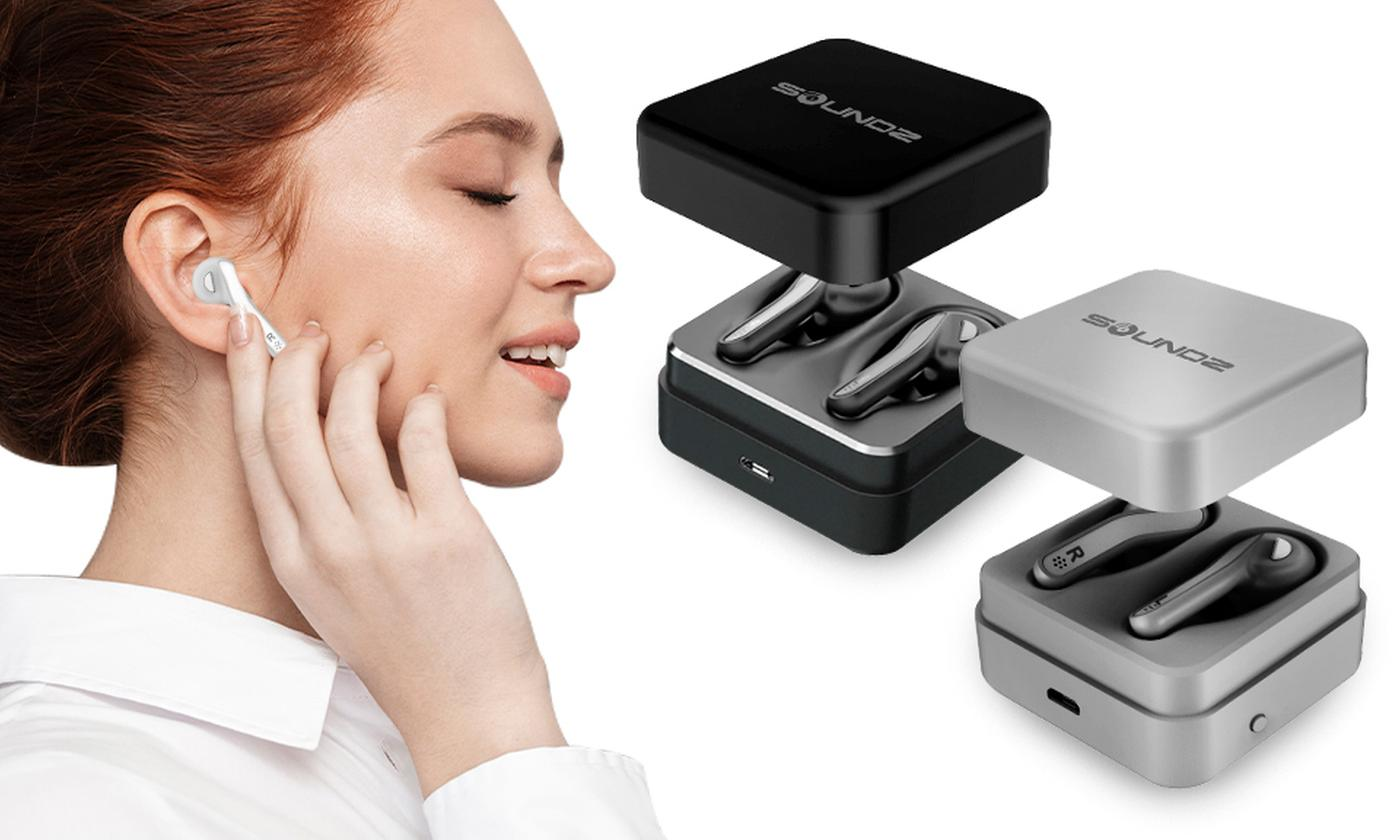 One or Two Pairs ofSoundz True Wireless Earbuds