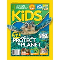 Groupon.com deals on National Geographic Kids Magazine 6-Mo, 5-Issue Subscription
