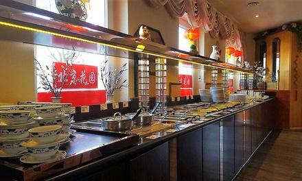 Chinesisches All-you-can-eat-Buffet für 2, 4 oder 6 Personen im Peking Garden (bis zu 27% sparen*)