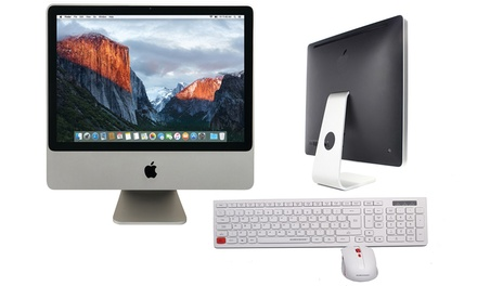 Refurbished 2GB or 4GB RAM Apple iMac 20'' Core 2 Duo with Optional Keyboard and Mouse With Free Delivery