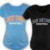 Maternity Basketball City Tees