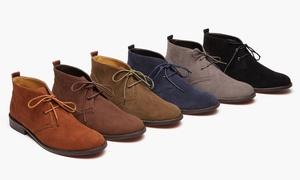 Oak & Rush Men's Microsuede Chukka Boots