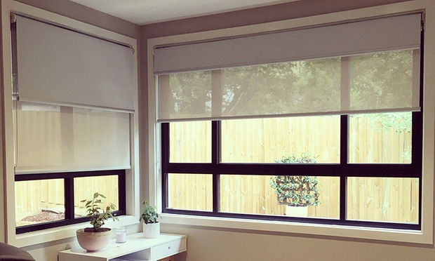 Roller Blinds With Installation Fantasy Shutters Groupon