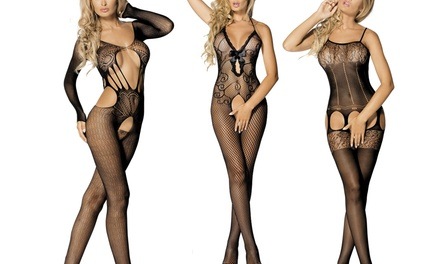 "Sensuele lingerieset ""Let's Duck"" met CD"