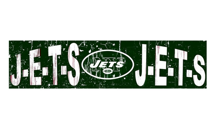 "New York Jets 24"" Slogan Sign: New York Jets 24"" Slogan Sign"
