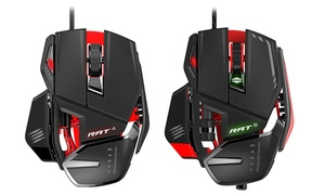 Mad Catz RAT4 or RAT6 Programmable Wired Mouse
