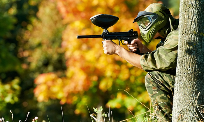 Ultimate Paintball - Ultimate Paintball: Entry, Kit Hire and 100 Paintballs for One ($10), or Six People ($39) at Ultimate Paintball, Camden (Up to $570 Value)