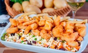 Restaurante Casarrara: Camarão à grega ou à moda para 2 ou 4 pessoas no Restaurante Casarrara – Matatu