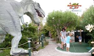 Adventure Golf: 1 entrée adulte ou enfant pour le mini golf de Marineland inspiré des aventures deJules Verne dès 7 € à Adventure Golf