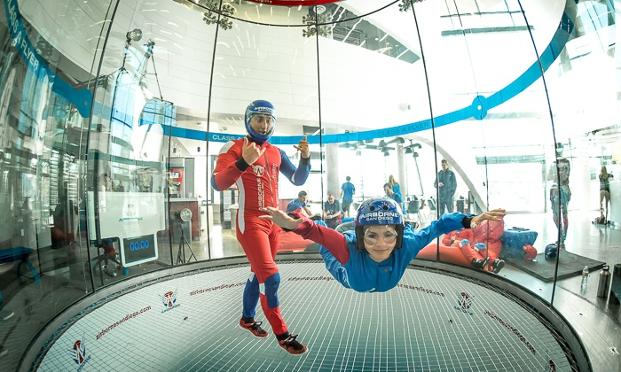 6bdc69ad2 Up to 29% Off Indoor Skydiving at Airborne San Diego
