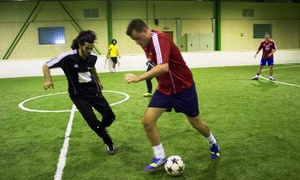 United Pro Sports: One-Hour Indoor Football Pitch Rental for Up to Ten Players at United Pro Sports (38% Off)