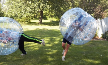 One Bubble Soccer Game for 8 or 16 at Motor City Bubble Soccer (Up to 47% Off)