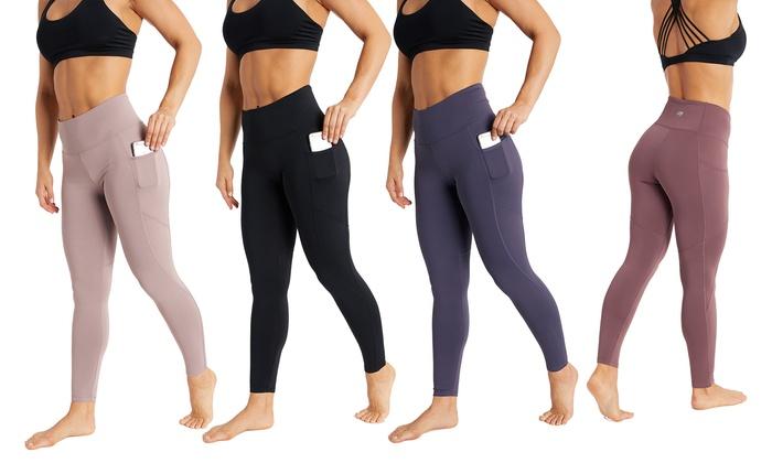 9739cb87a0a13 Marika Women's Fleece-Lined High Waist Pocket Leggings | Groupon