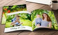 Softcover-Fotobuch quadratisch 20 x 20 cm oder im Din-A4-Format bei Printerpix (bis zu 87% sparen*)