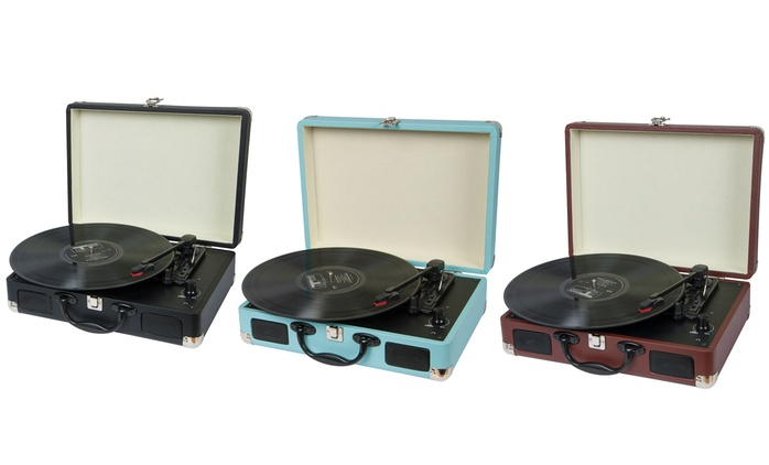 Tocadiscos retro disponible en varios colores por 54,99 €