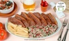 Churrascaria Baby Beef - Campinas: Churrascaria e Pizzaria Baby Beef – Taquaral: picanha ou parmegiana + sobremesa para 2 ou 4 pessoas
