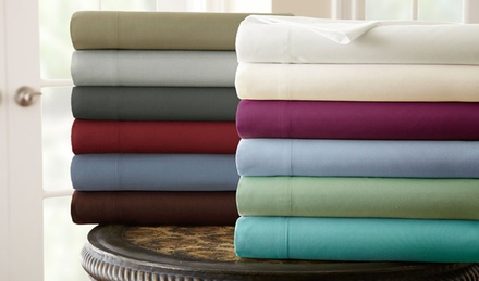 Hotel Collection 3- and 4-Piece Microfiber Sheet Sets Available from $12.99-$24.99