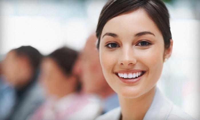 Smile Designs by Dr. Karen Cooper - Henderson: Zoom! Whitening Treatment or Whiter Image Whitening Kit at Smile Designs by Dr. Karen Cooper (Up to 70% Off)