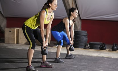 image for Ten CrossFit Classes or One Month Membership with Unlimited Classes at CrossFit Hexis (Up to 81% Off)