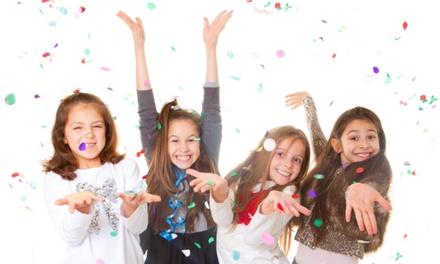 Fotoshoot als kinderfeestje voor 412 kids incl. visagie en hairstyling bij Empire Fotostudio in Zoetermeer