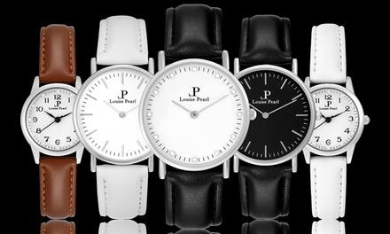 Montres Louise Pearl pour femmes, bracelet interchangeable pour les grands cadrans