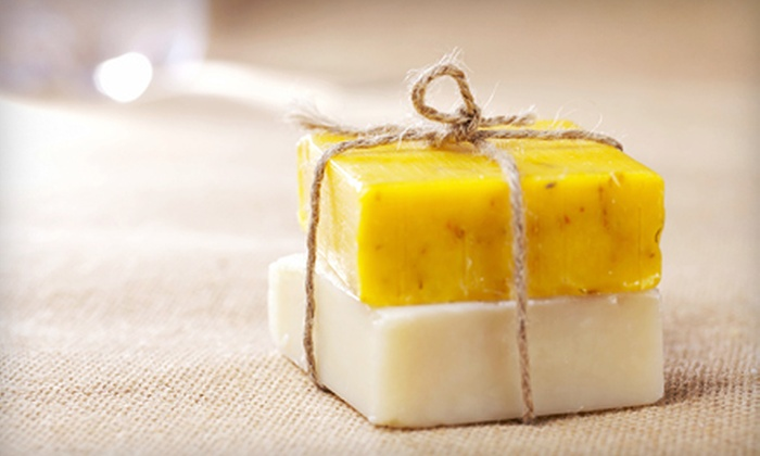 SoapTastic Lush Soap Company - Fall River: Natural-Soap-Making Class for One or Two at SoapTastic Lush Soap Company (Up to 54% Off)
