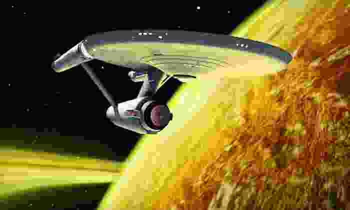 """""""Star Trek: The Exhibition"""" - Kings Oak: $14 for Museum Visit for Two to See """"Star Trek: The Exhibition"""" at Saint Louis Science Center (Up to $28 Value)"""