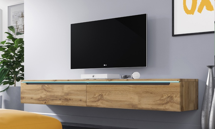 TV Cabinet with Optional LED Lights