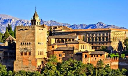 """Granada: 1 noche para 2 en habitación doble o suite junior con desayuno y circuito spa """"Palace"""" en Granada Palace 4*"""